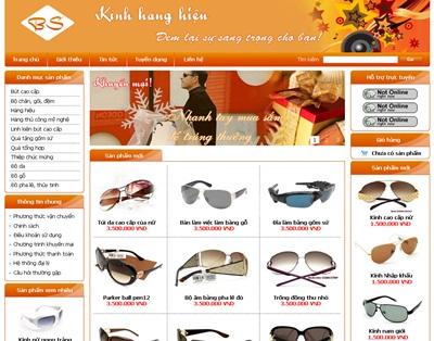 Thiet ke website ban hang online uy tin tuy bien de dang