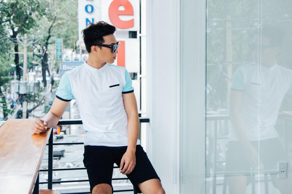 Ao Thun Co Co Xanh Ngoc AT630