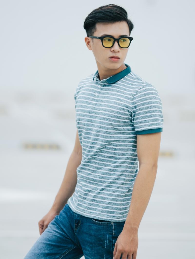 Ao Thun Soc Co Co Xanh Reu AT635
