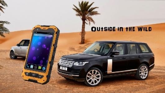 Dien thoai Land Rover A8 chong nuoc cau hinh sieu khung