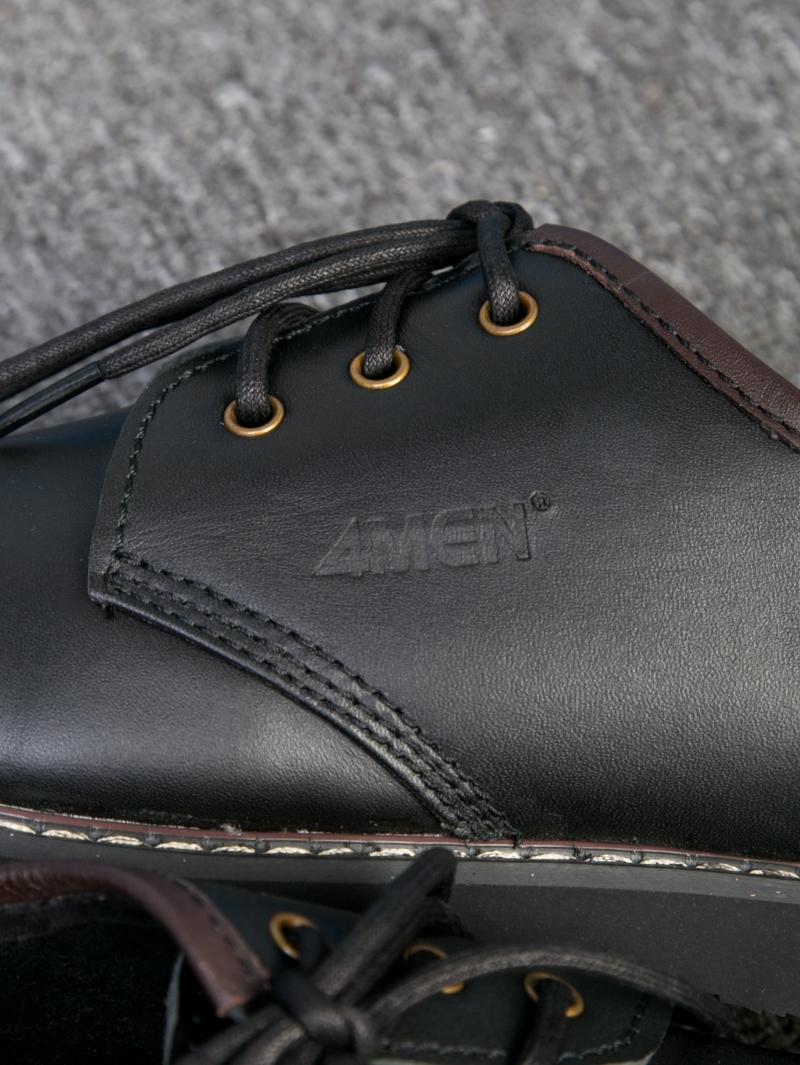 Giay Boot Co Den G111