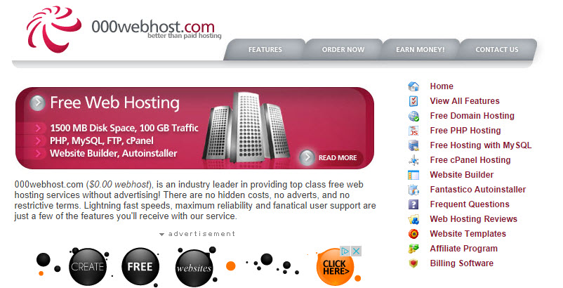 Hosting mien phi tot nhat de su dung WordPress
