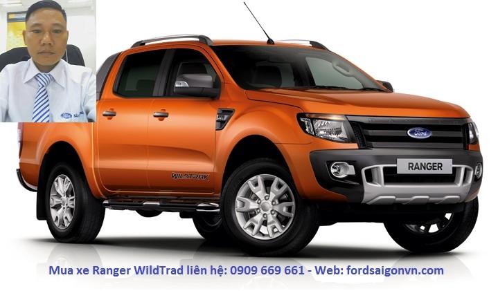 Xe ford Ranger 2017 Xe ford Ranger Wildtrak 2017 tra gop gia tot HCM