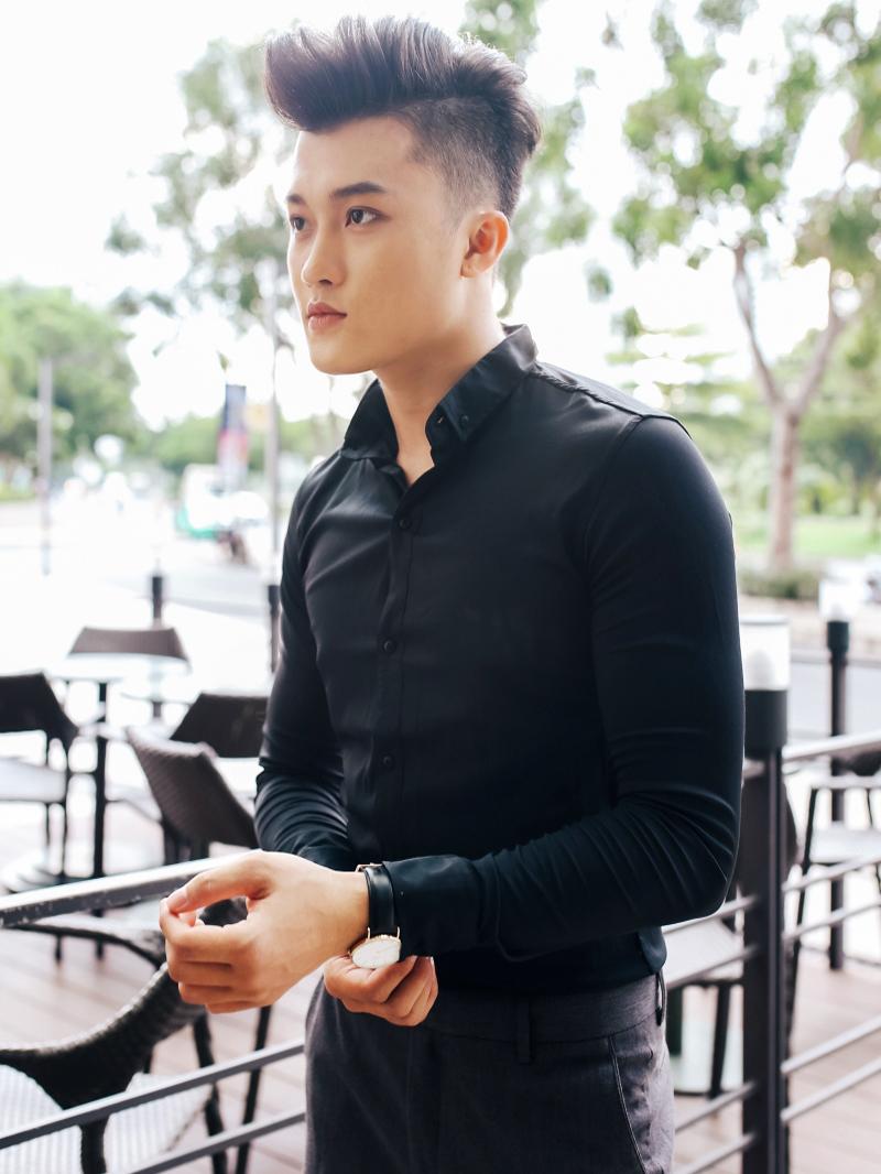 Ao So Mi Han Quoc Den Tron ASM843
