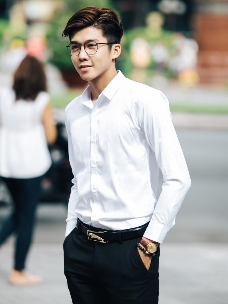 Ao So Mi Trang ASM833