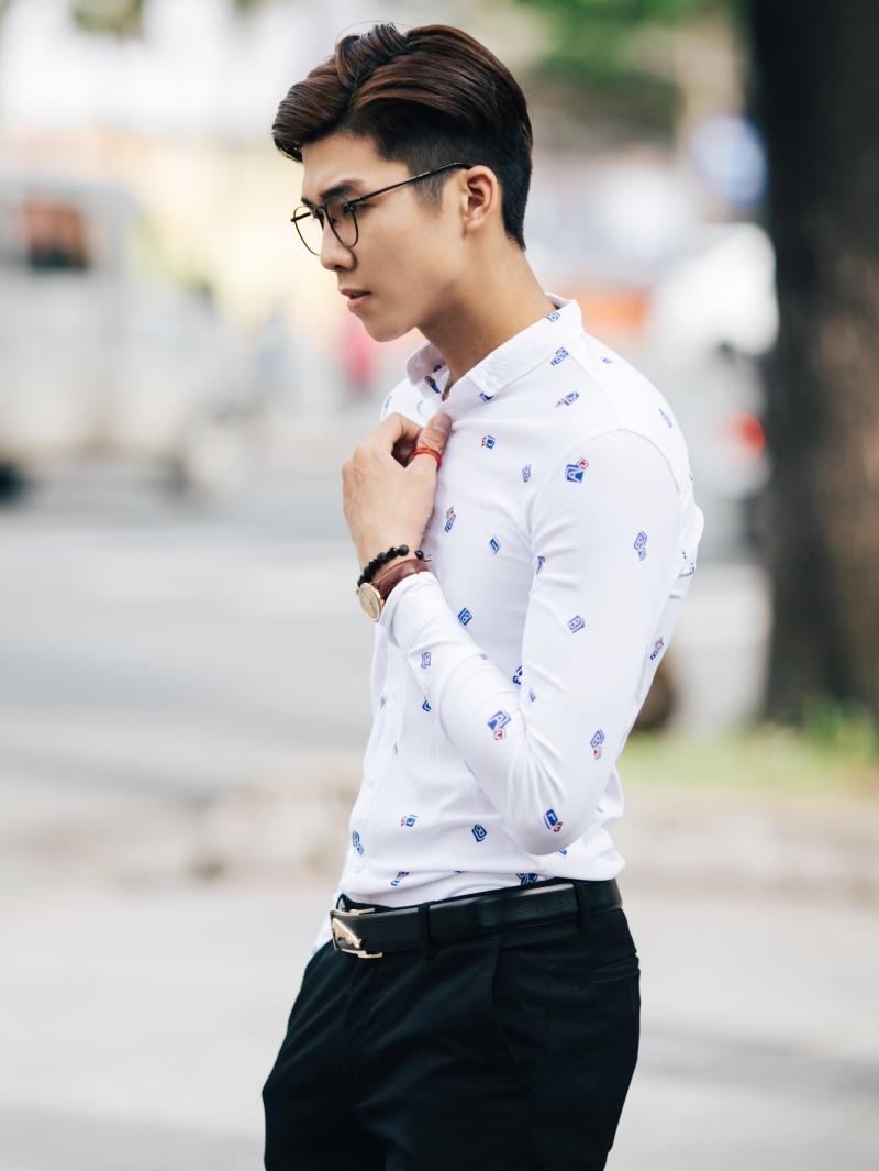 Ao So Mi Trang ASM838