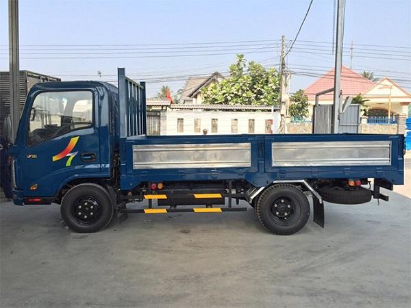 Ban xe tai veam VT252 xe tai veam 24 tan thung dai 3m9 vao thanh pho ban tra gop