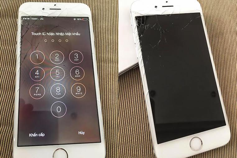 Iphone 6 can thay man hinh thi mat bao nhieu
