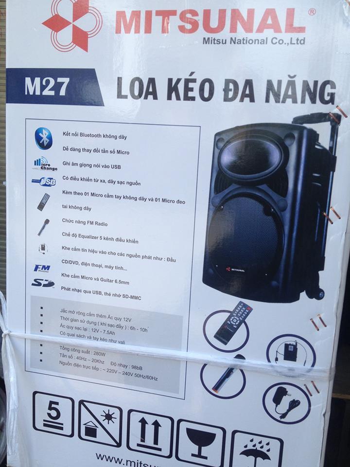 Loa Keo Da Nang Mitsunal M27