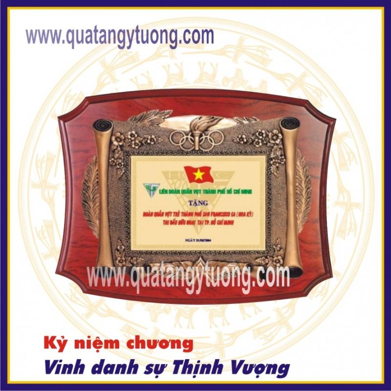 Nhan lam bang chung nhan bang khen go dong ky niem chuong go dong