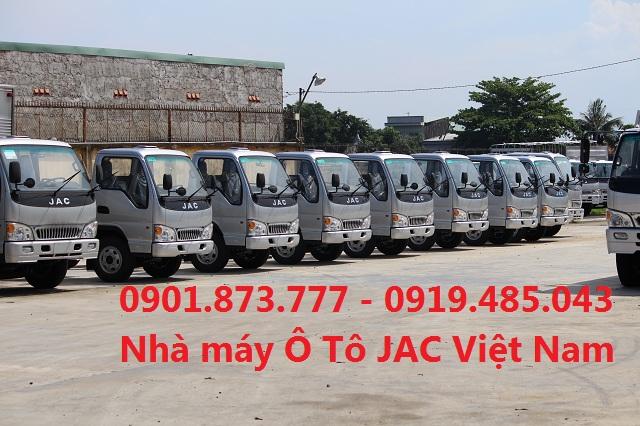 Noi nao ban xe tai Jac 15 tan1T5 uy tin nhat Sai Gon Xe tai 15 tan149 tan