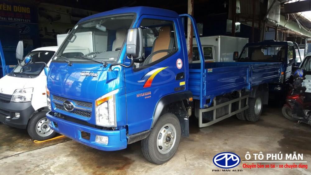 Dai ly xe tai Cuu Long 2t4 may Hyundai vao thanh pho gia xe tai Cuu Long 2t4 24 tan gia tot nhat