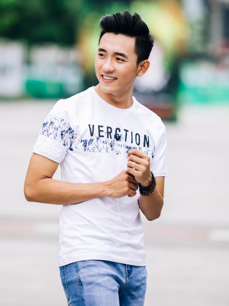 Ao Thun Co Tron Trang AT649
