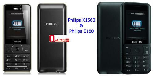 Dien thoai Philips e560e570x5500 pin khung cho 2 den 3 thang xuat Nga