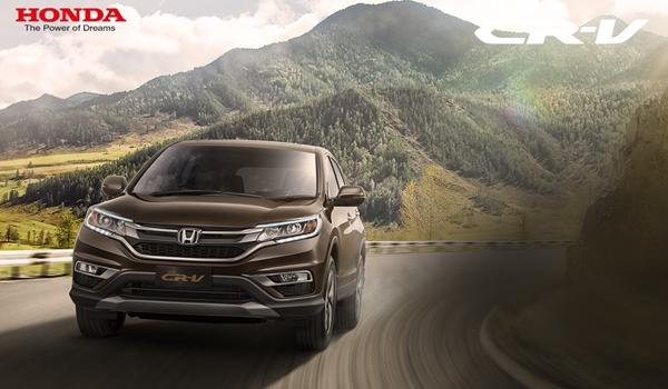 Honda CRV 2017 Tuyet tren tung duong net moi