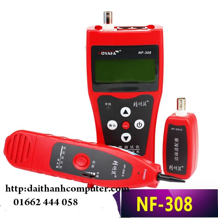 May test mang da nang NF308 NoyafaMan hinh do LCD