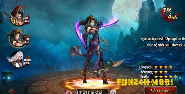 Nhung diem dac sac trong game online Vo Song Nhan