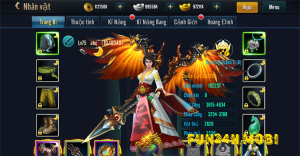 The gioi game hap dan trong Chien Quoc Ba Nghiep
