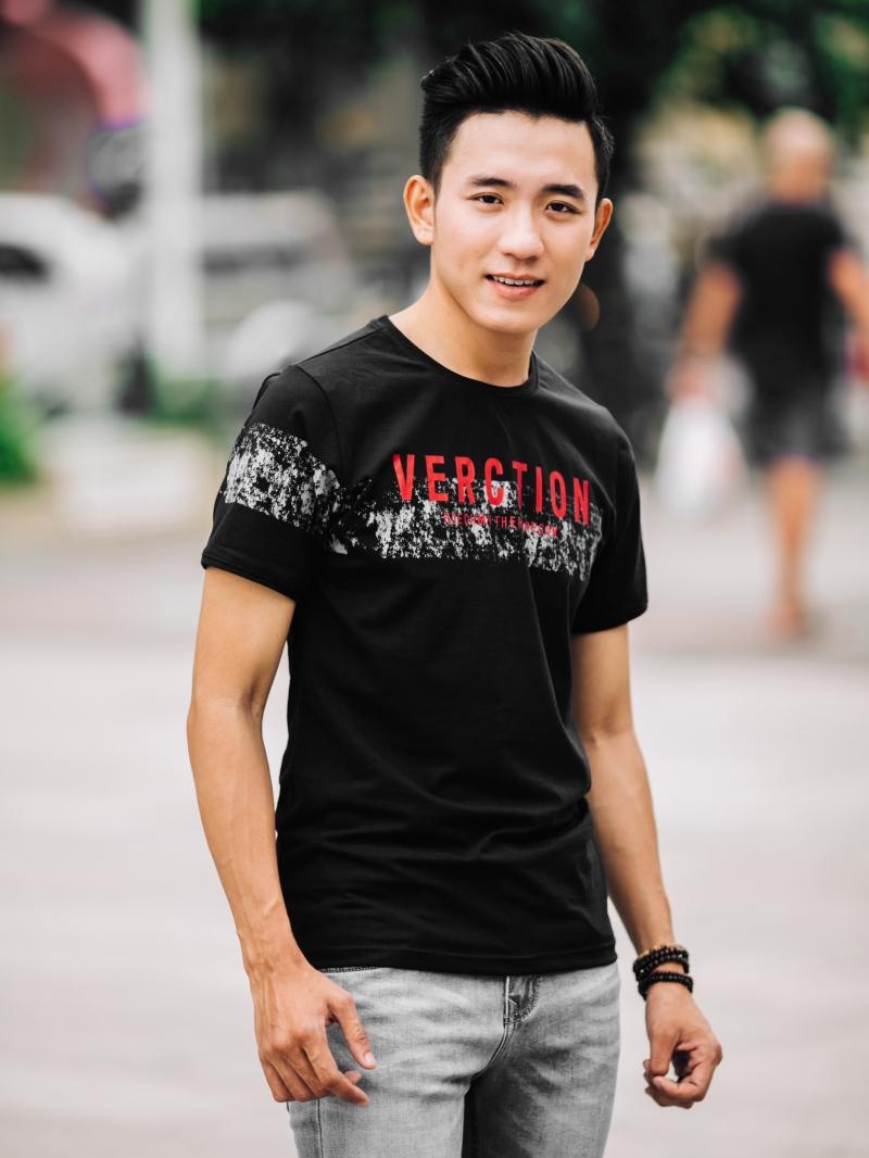 Ao Thun Co Tron Den AT649