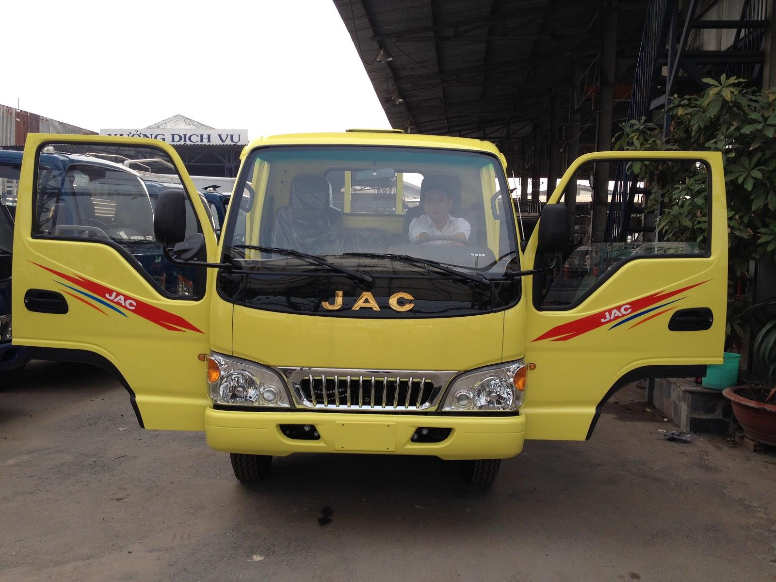 Ban xe tai jac HFC1030K4 tairtrongj 24 tan dong co ISUZU