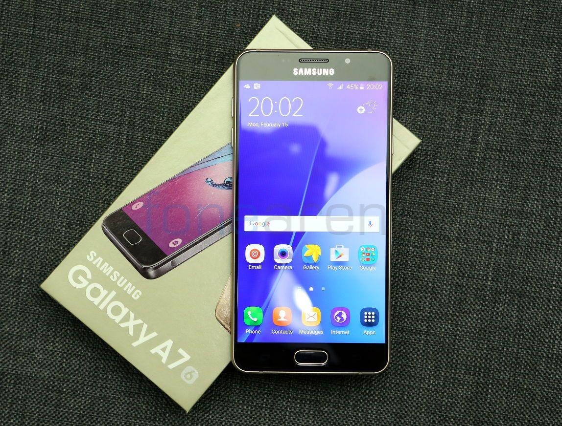 Samsung Galaxy A7 phien ban 2016 co duoc 2 cam bien camera