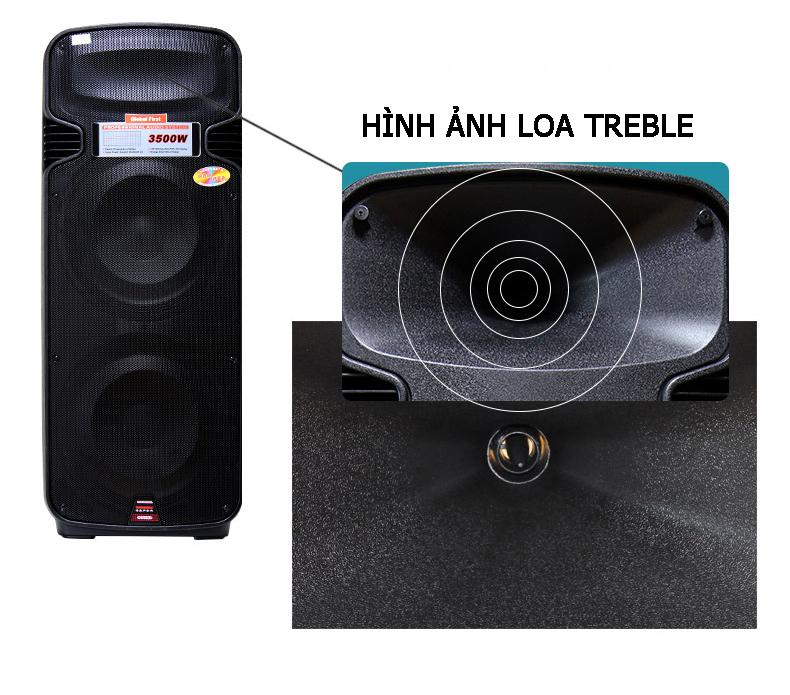 Loa Keo Di Dong Temeisheng A65S loa bass 40cm Gia ban 3990000 VND
