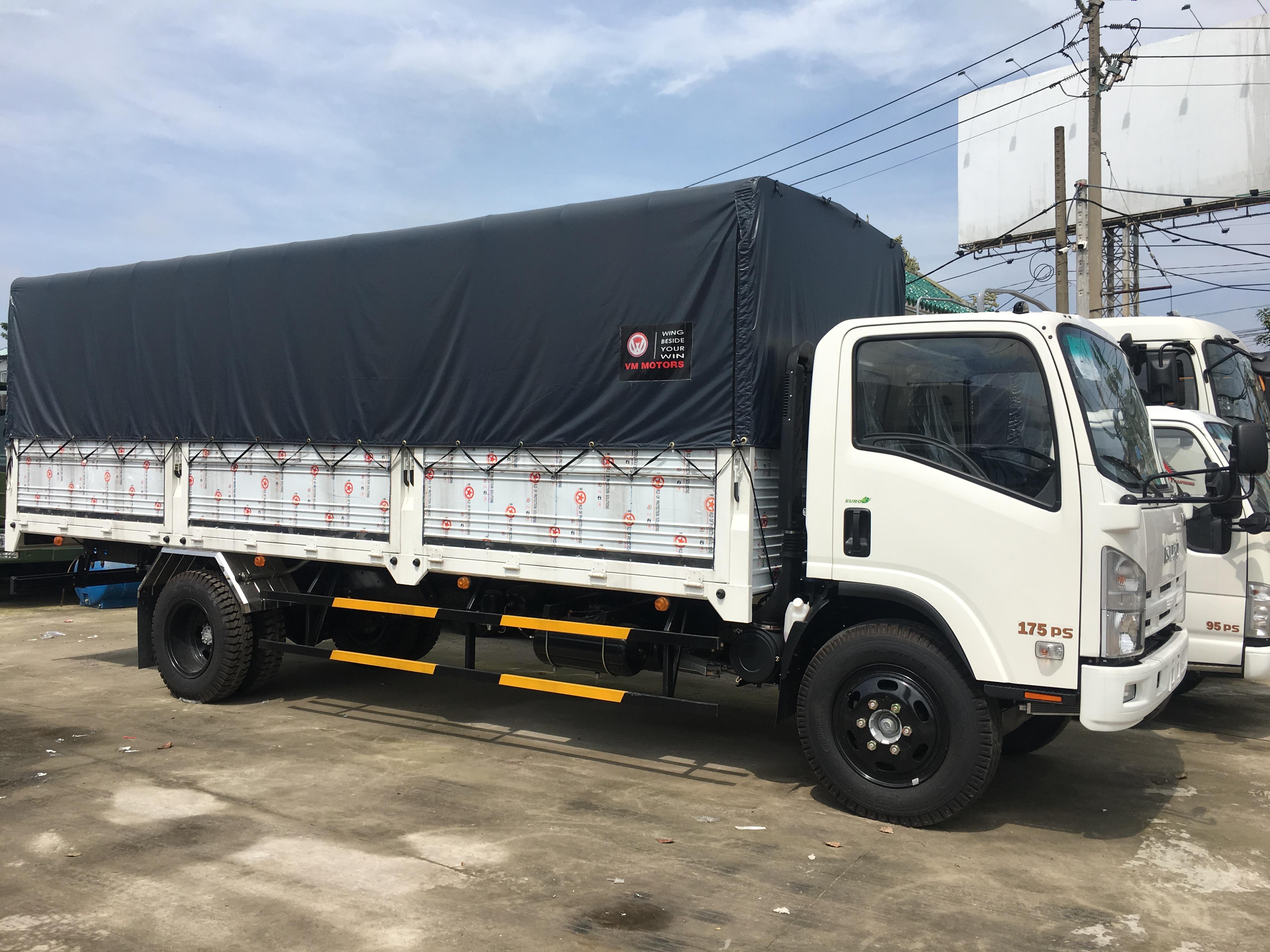Ban xe tai ISUZU VM 82 tan 8 tan 2 8T2 8200kg thung mui bat