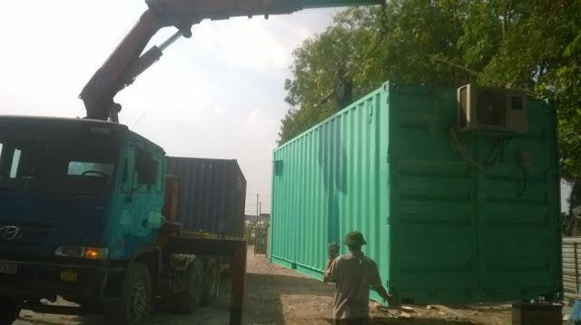 Cho Thue Container Van Phong 20 Feet Tai TP Ho Chi Minh
