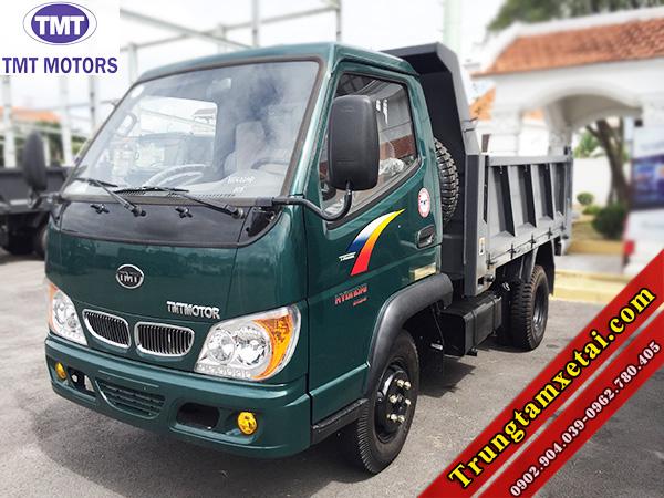 Xe ben Cuu Long 24tan TMT HD6024D dong co Hyundai vao TP