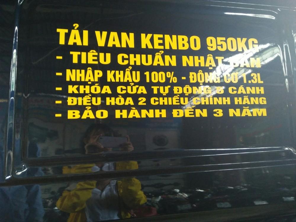 Dai li xe tai KENBO 950kg ho tro vay ngan hang 100 xe moi