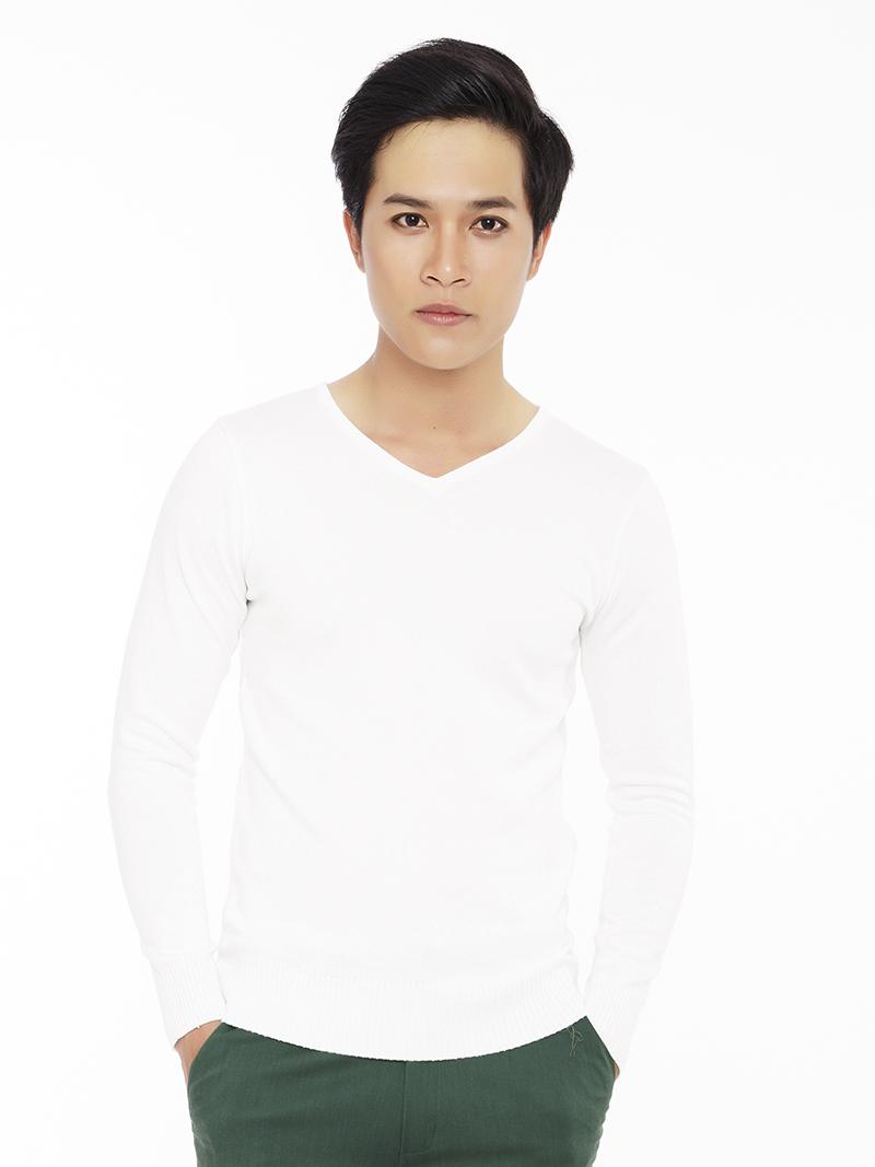 Ao Len Co Tim Trang AL81