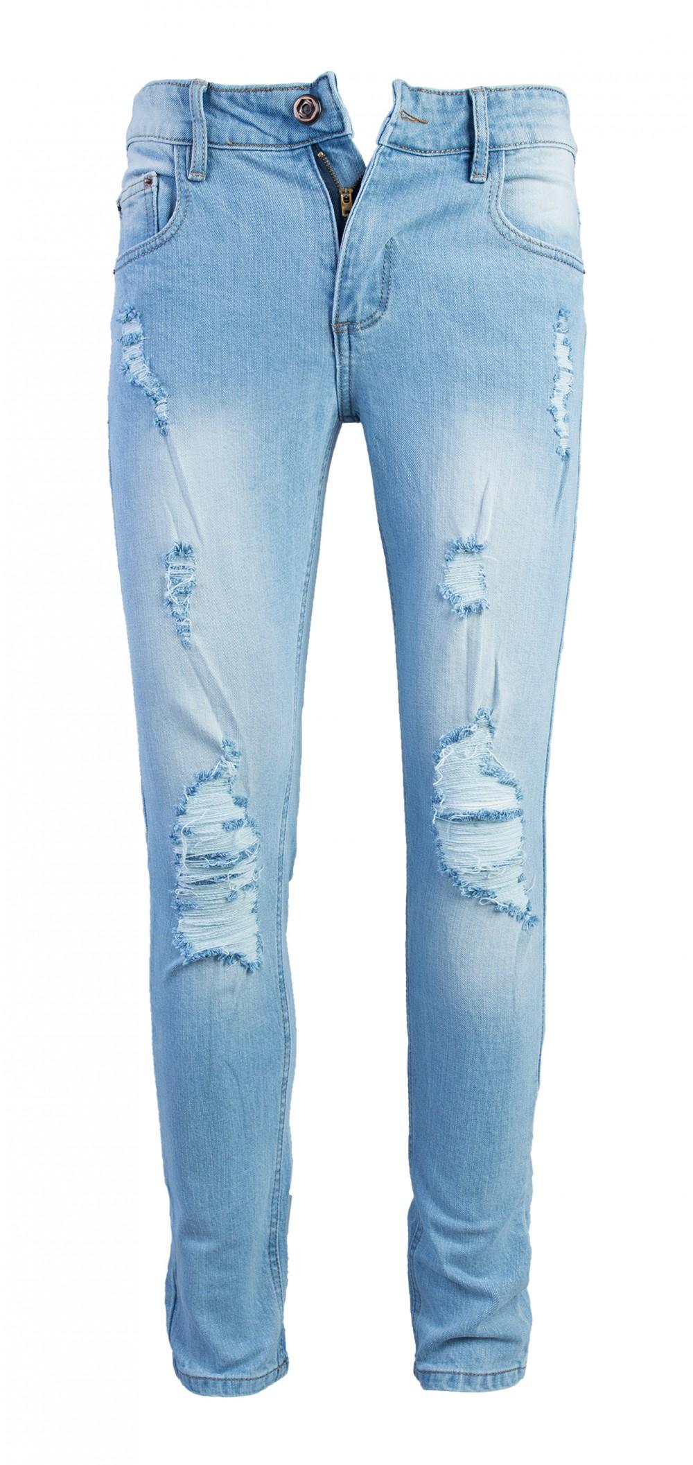 Quan Jeans Rach Xanh QJ1575